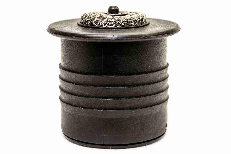 Vacuum relief valve side view