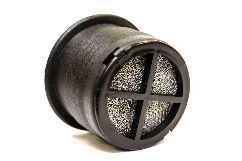Vacuum relief valve bottom view