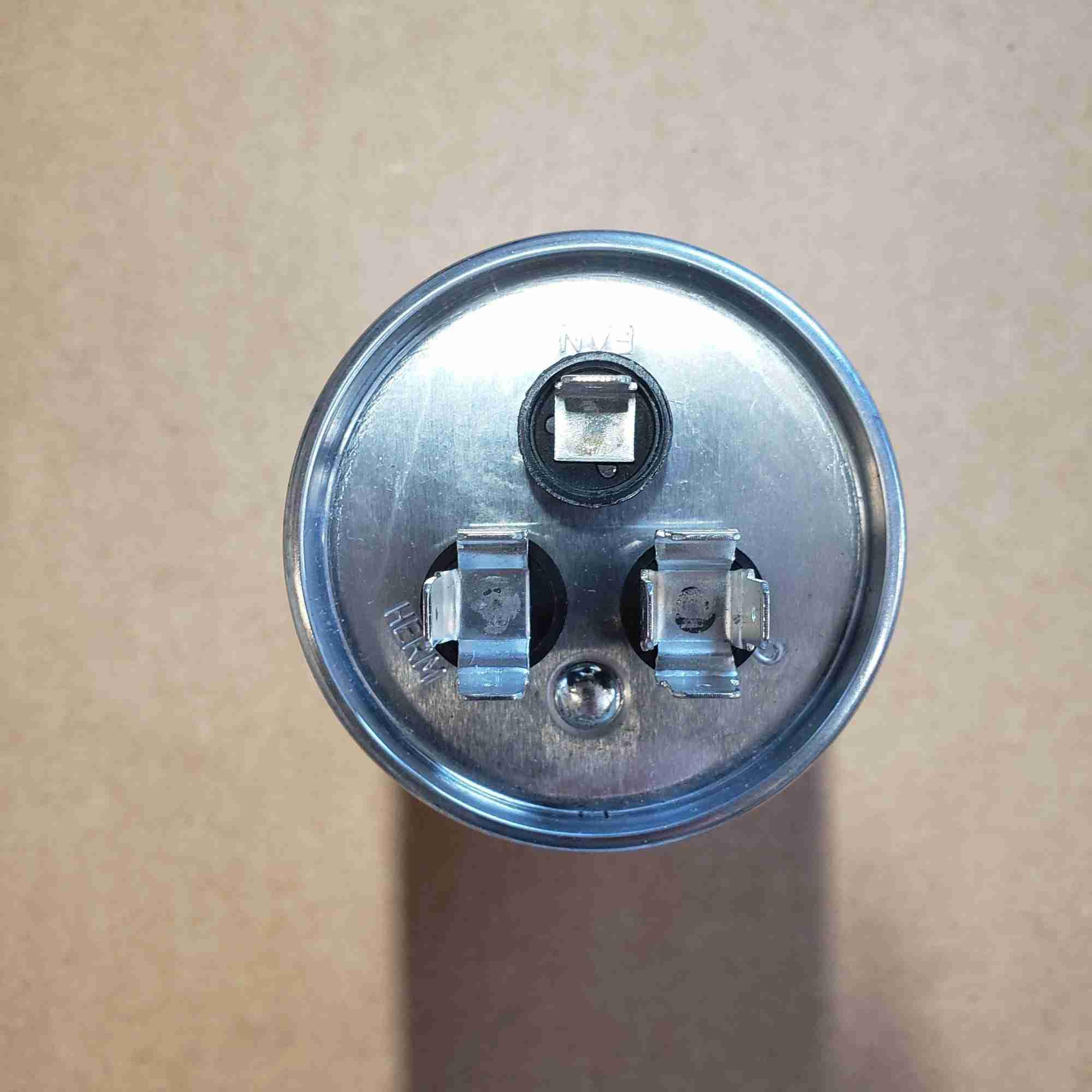Top view of 60/5 Capacitor