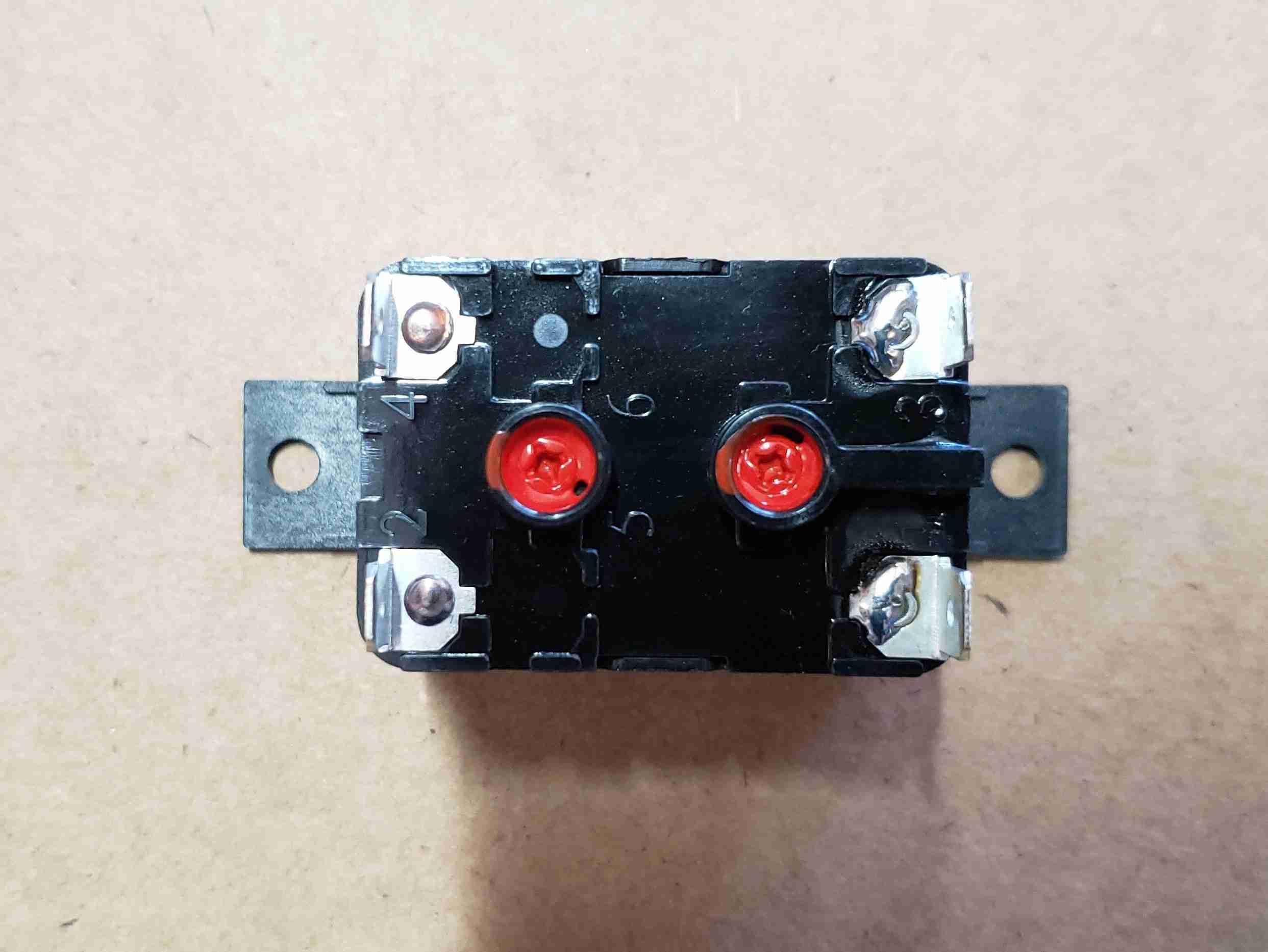 Bottom view of Fan Relay for Heat Pump Display Retrofit Kit
