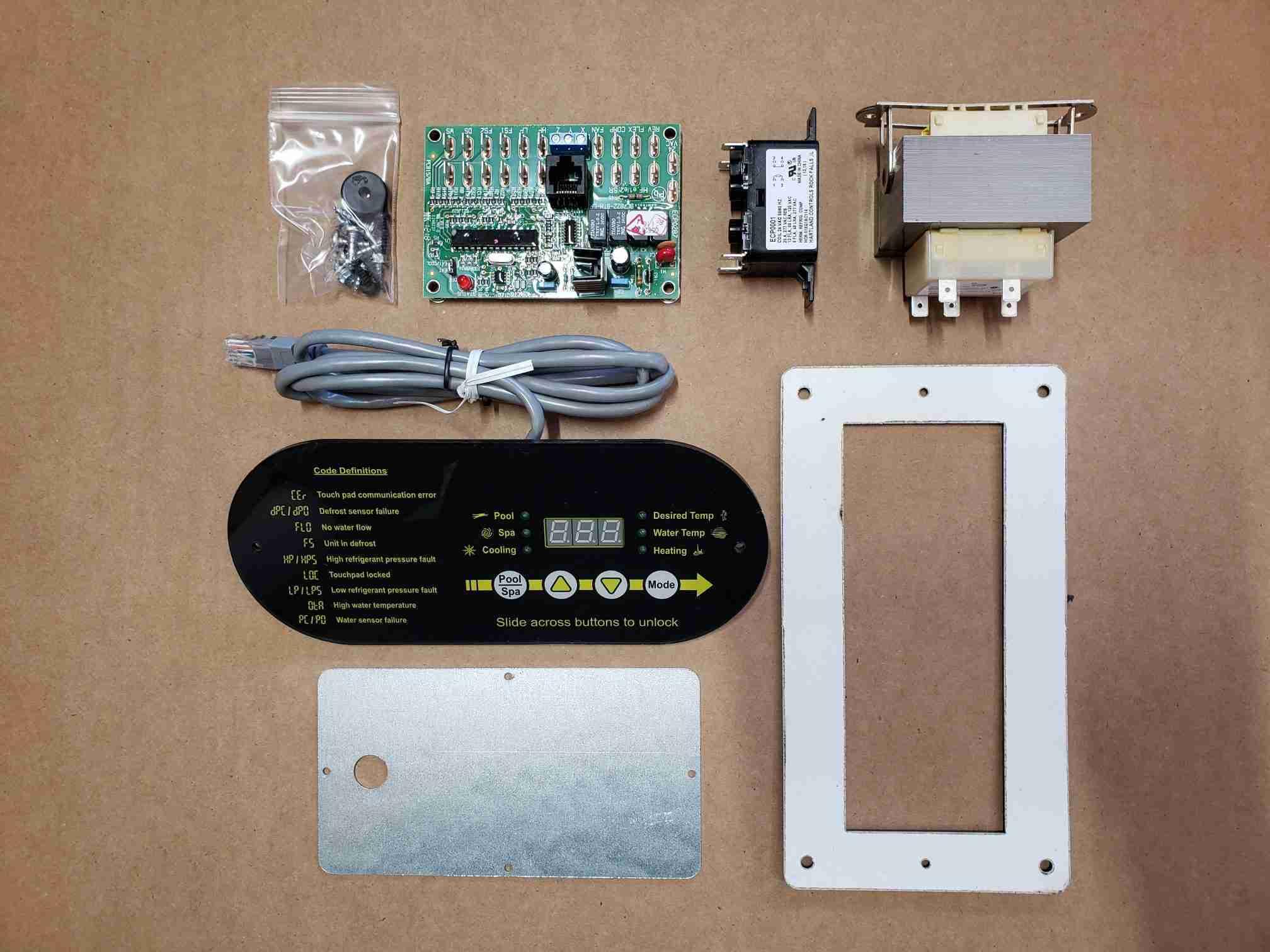 Overview of Heat Pump Display Retrofit Kit