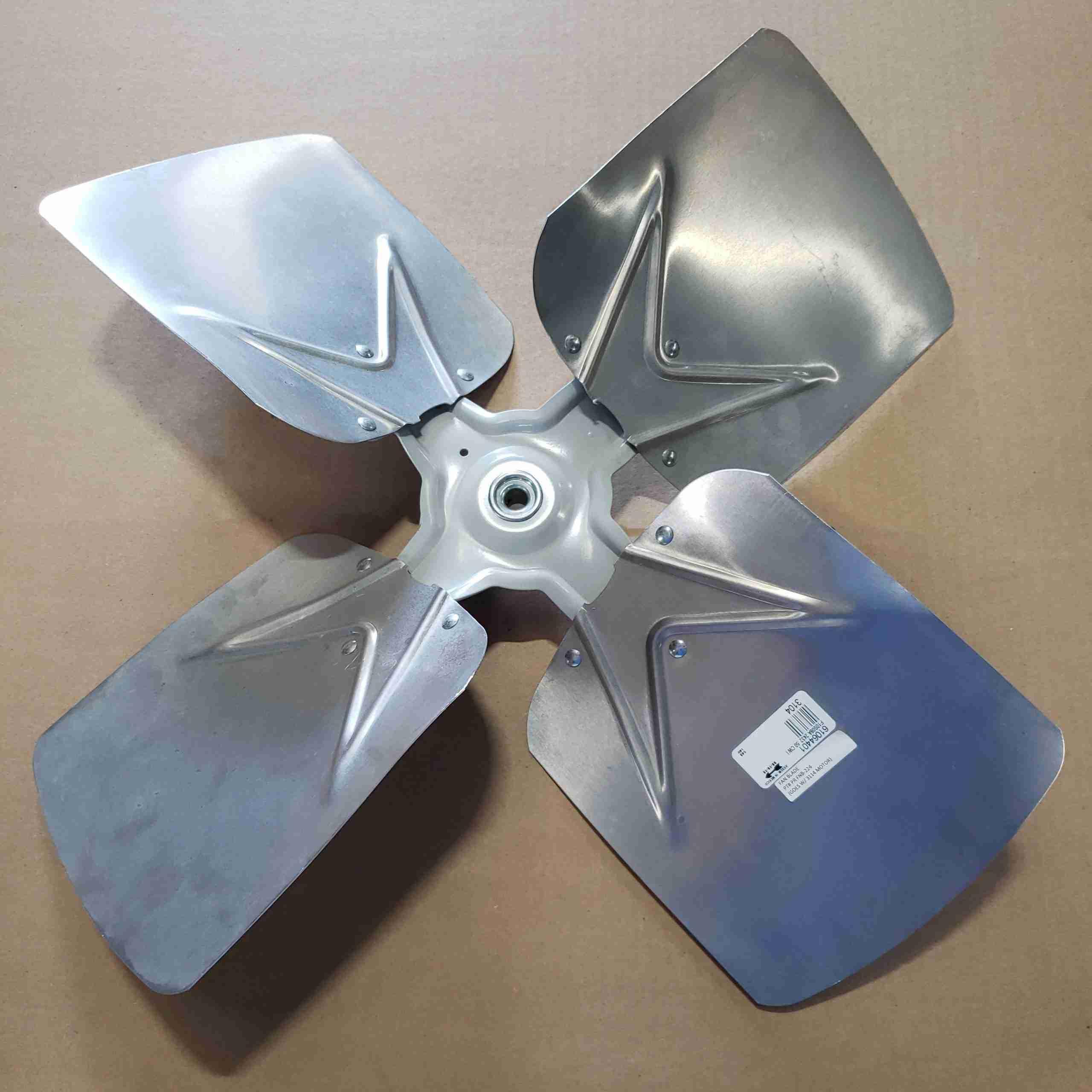 Top side of Heat Pump Fan Blade