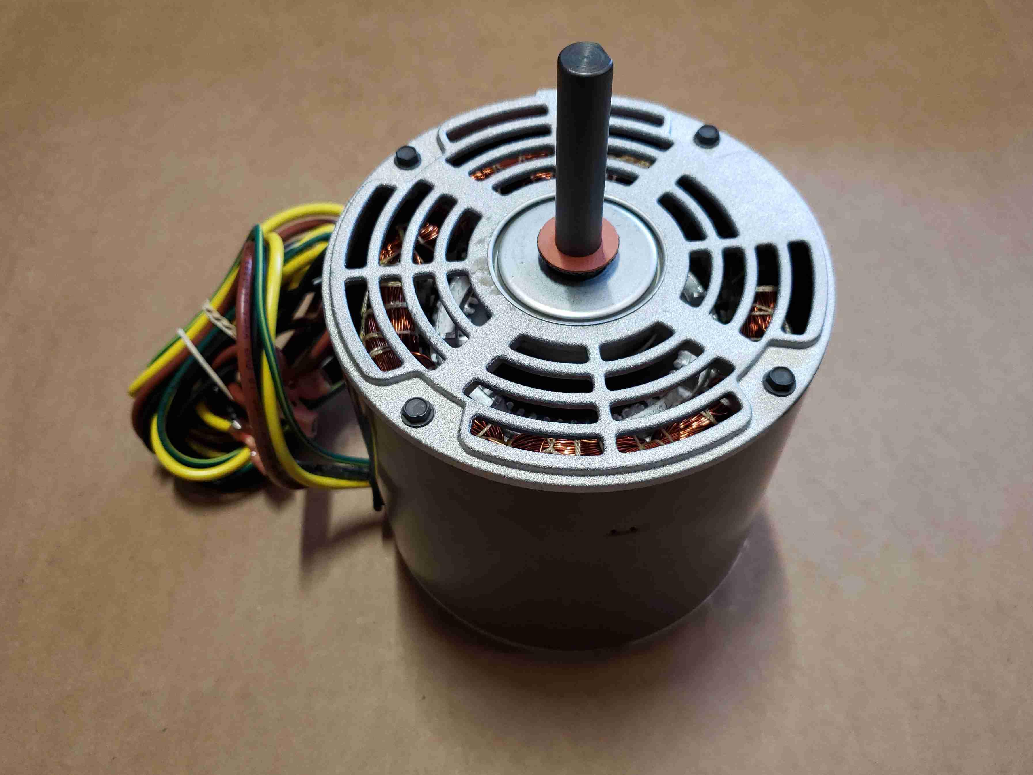 Perspective view of Heat Pump Fan Motor