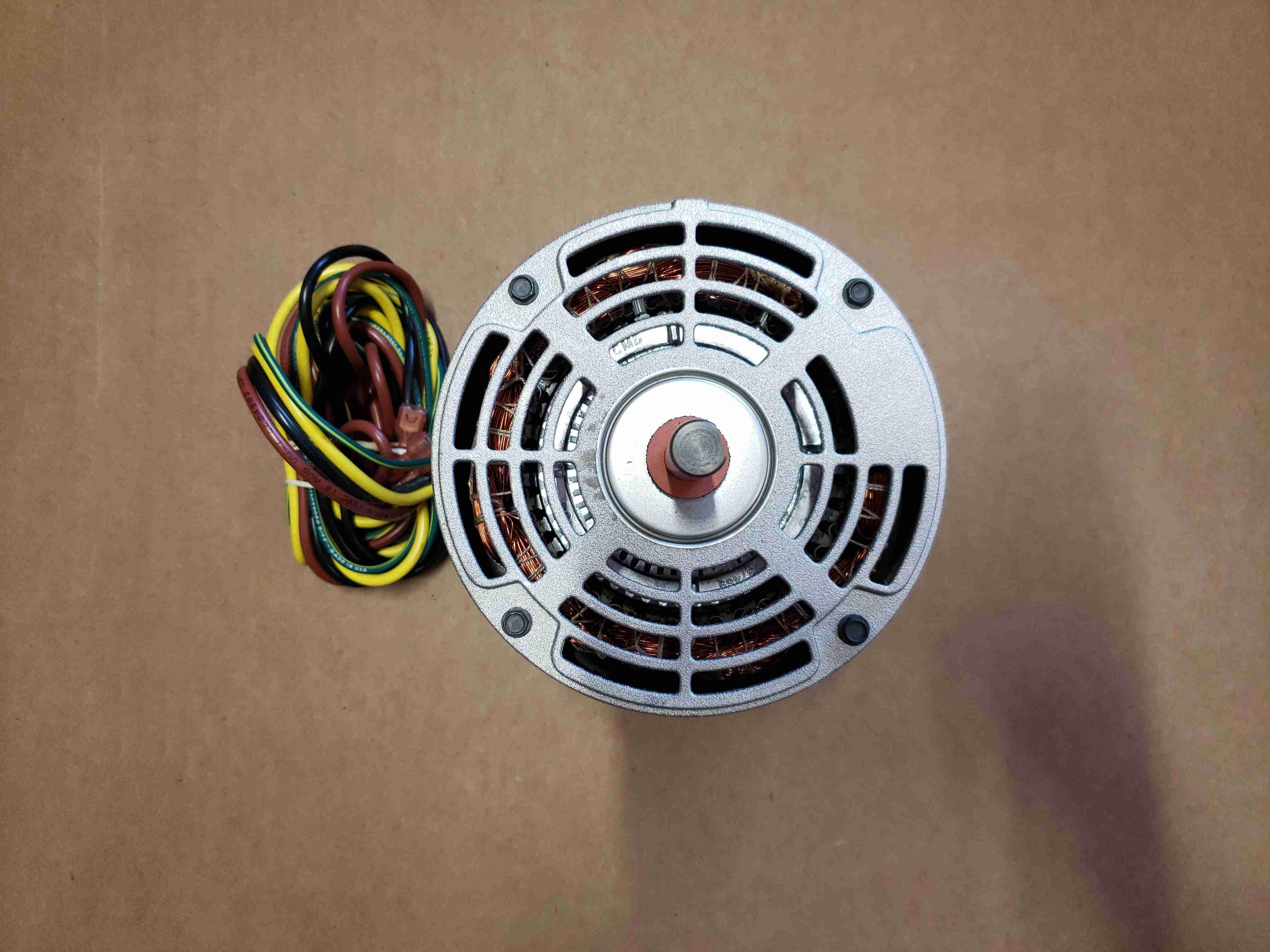 Top view of Heat Pump Fan Motor