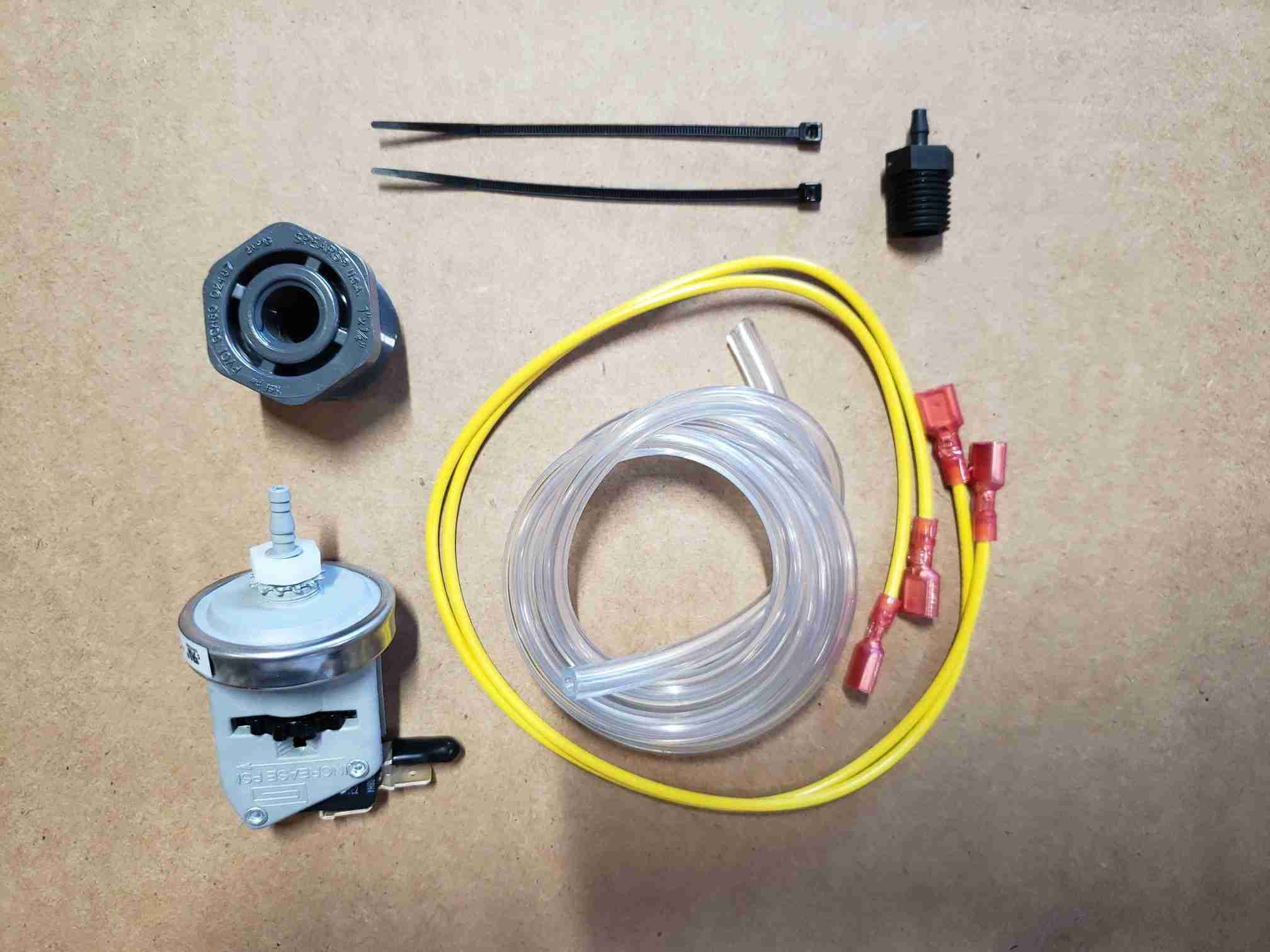 Overview of Water Pressure Kit