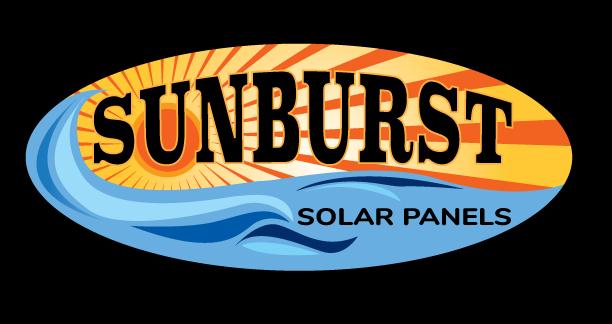 Sunburst Solar Panels Logo