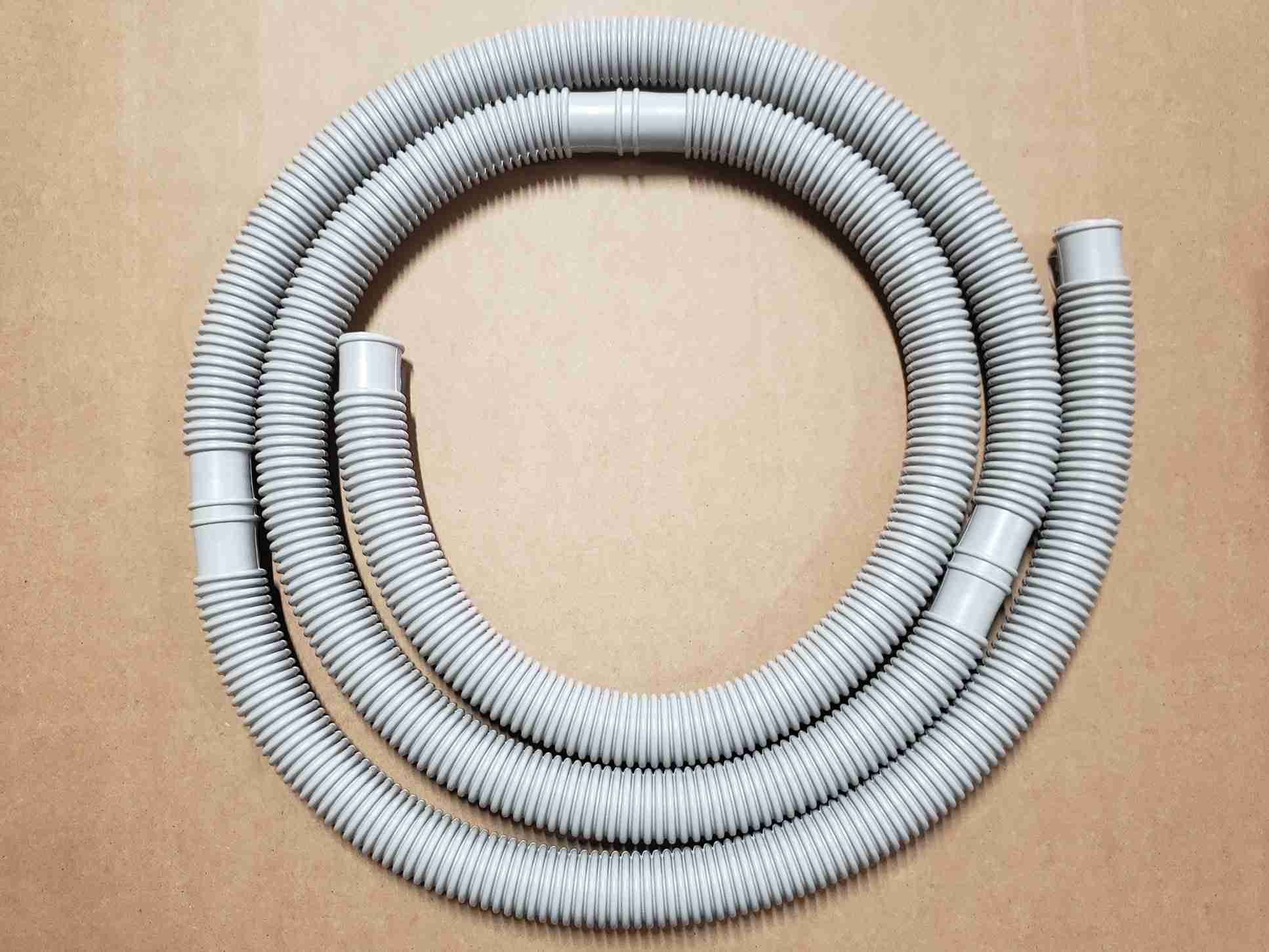 12ft Variant of Flex Hose with Double Cuffs for Above Ground Pool