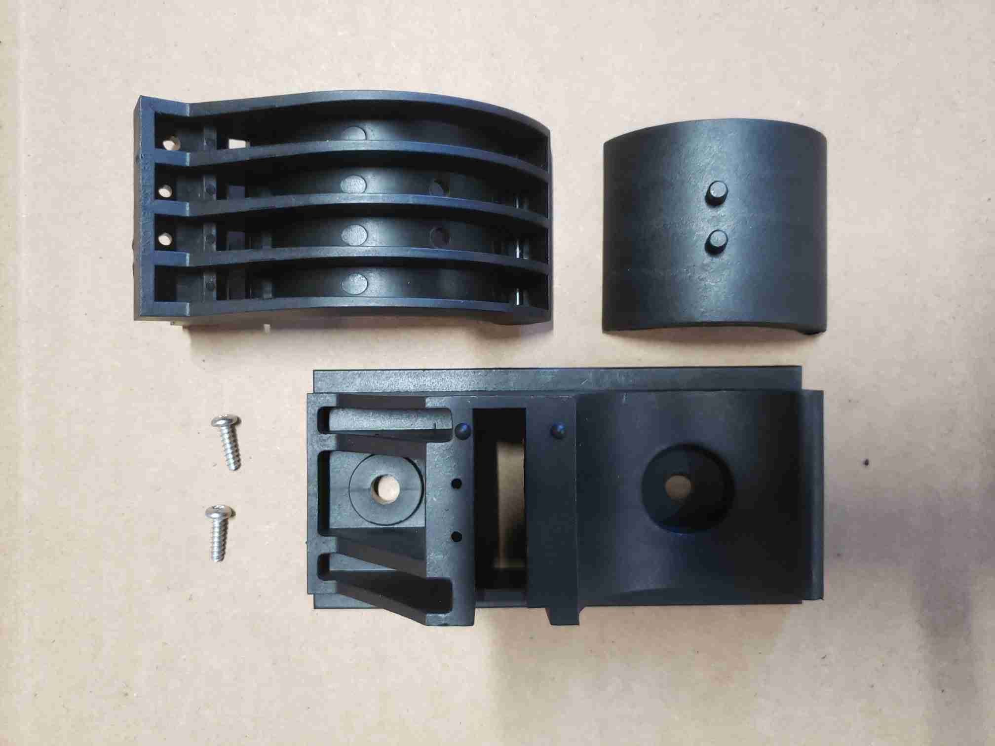 Universal Clamp Assembly with 1.5in insert top view