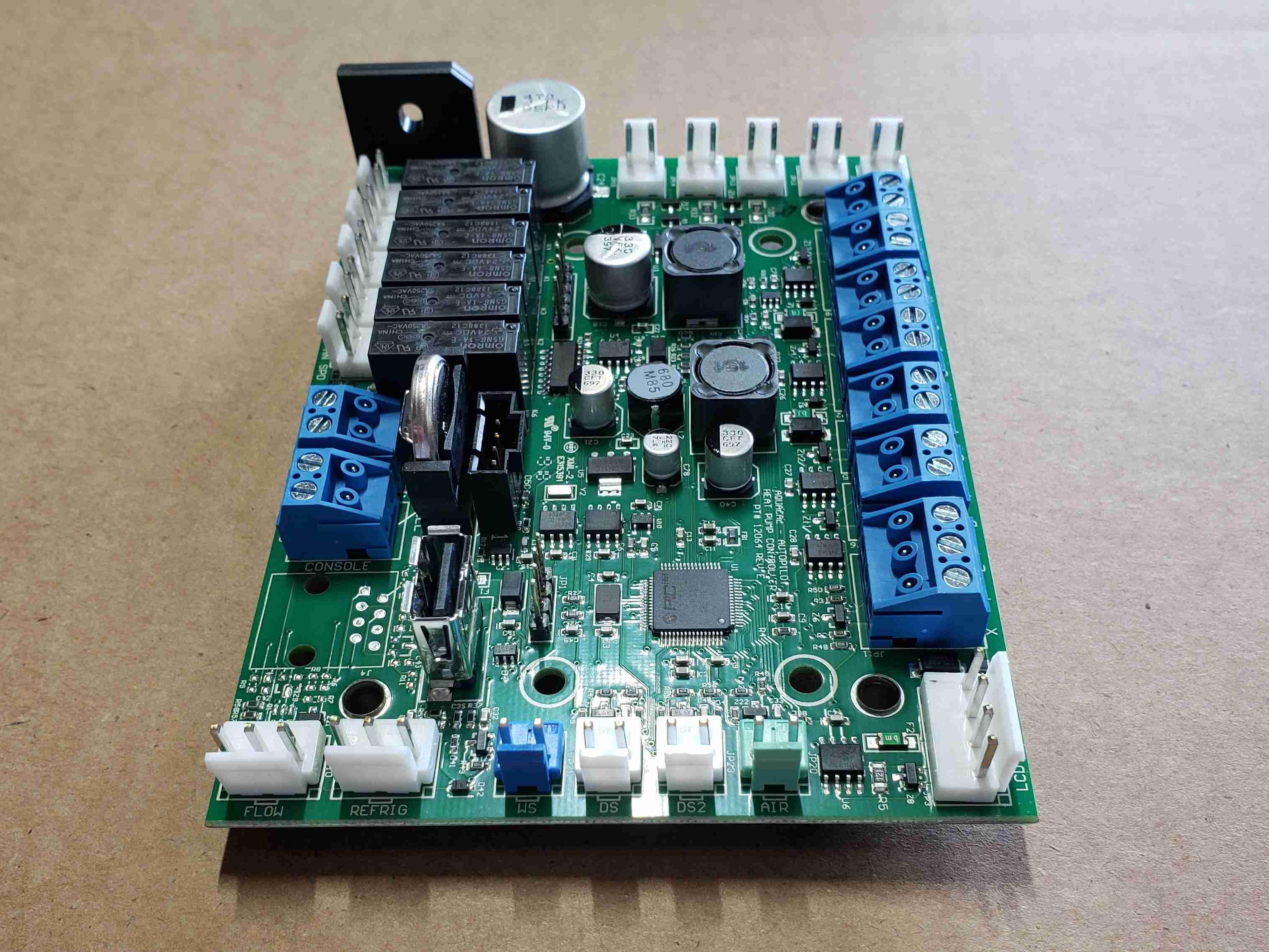 New Smart Control Main PCB Control Board Perspective View