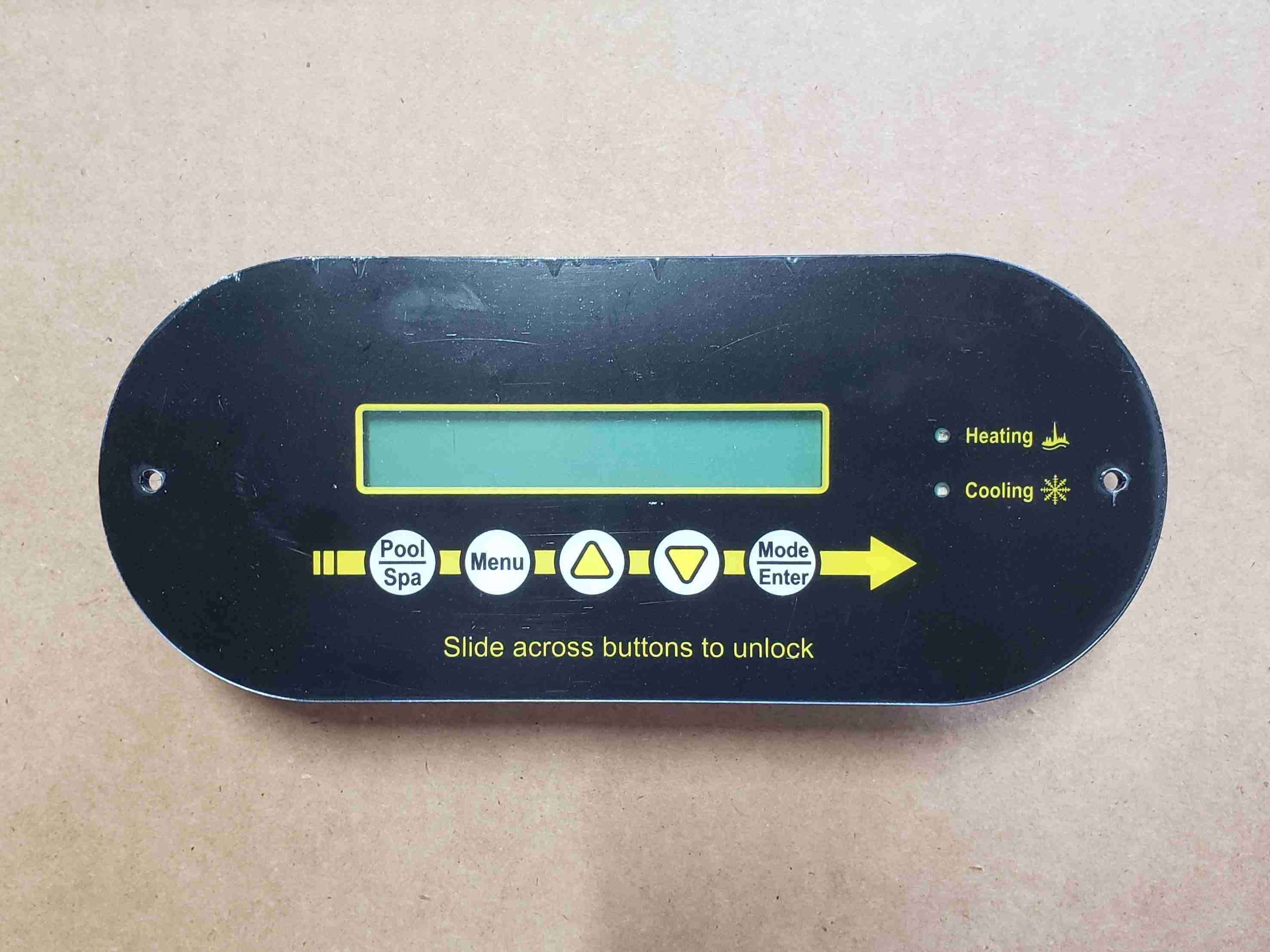 New Smart Control Touch Screen Display Top View No Wire