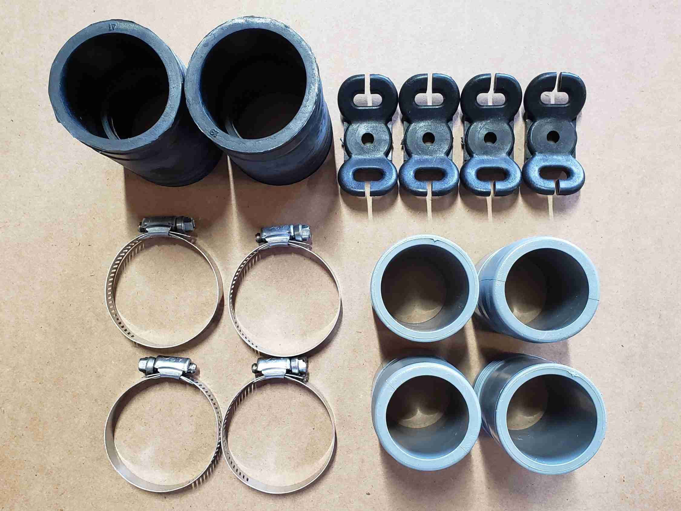 Row Spacer Kit top view